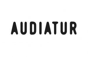 Audiatur Logo Svart