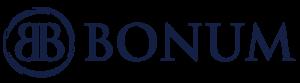 Bonum Logo Blå Tranparent1 600x165