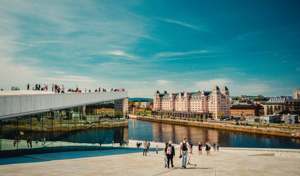 Utsikt Over Eiendomer. Opeaen Og Havnelagert I Oslo. Bilde til kundehistorie fra Malling