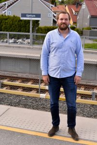 Christopher Vik økonomisjef i HAB Construction