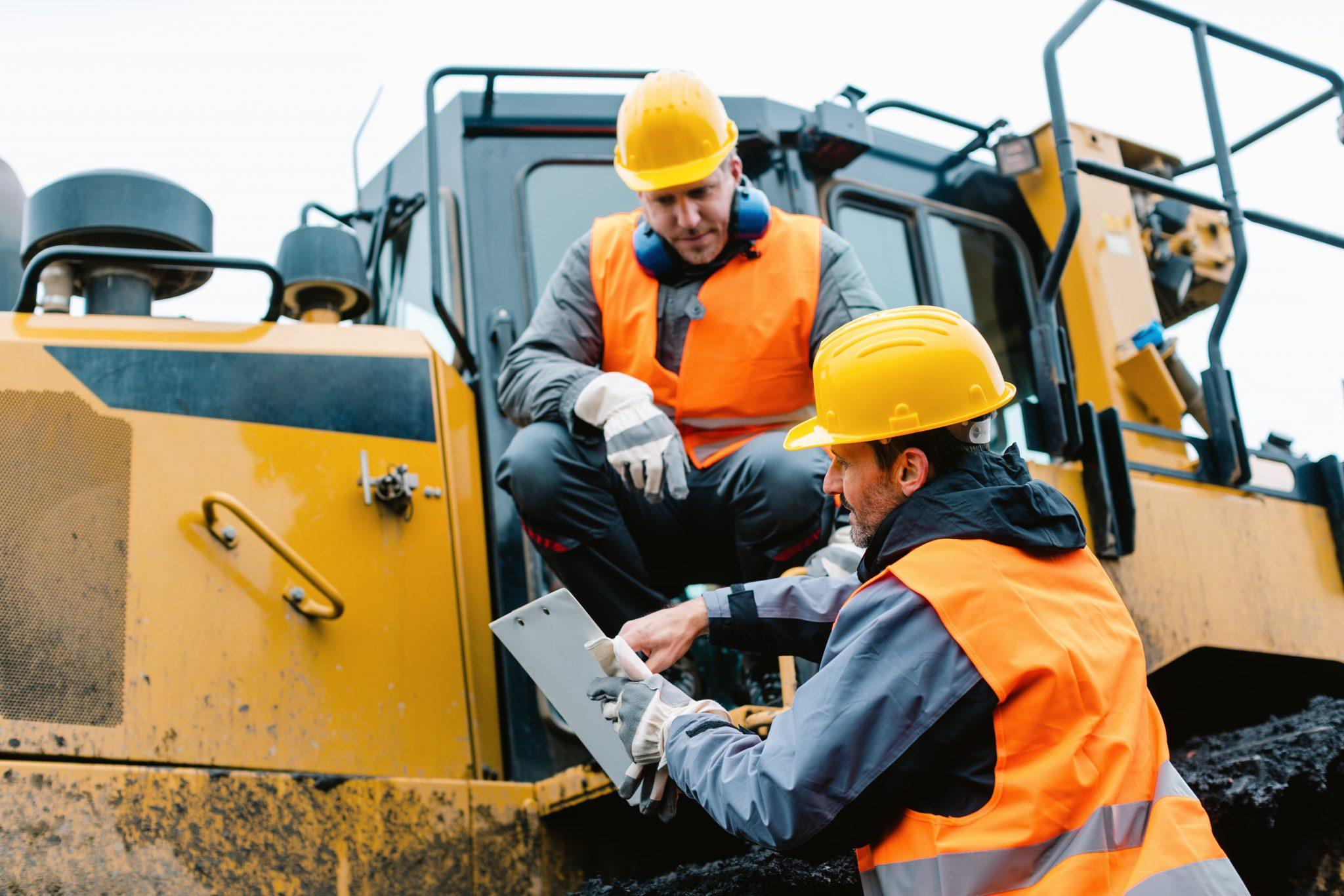 Repstad Anlegg kundehistorie To Anleggs Arbeidere På Jobb