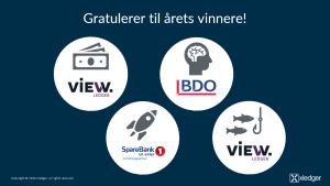 Årets Xledger Partner-vinnere logoer