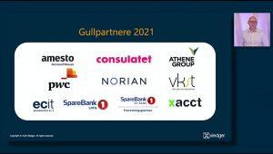 Xledger Gold Certified Partner 2021 logoer fra Partnerdagen 2020