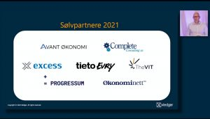 Xledger Silver Certified Partner 2021 logoer fra Partnerdagen 2020