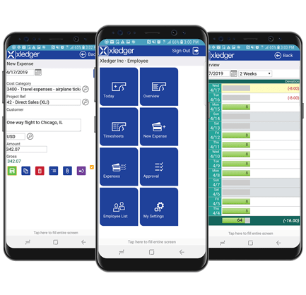 Affärssystem ERP Mobil - Xledger