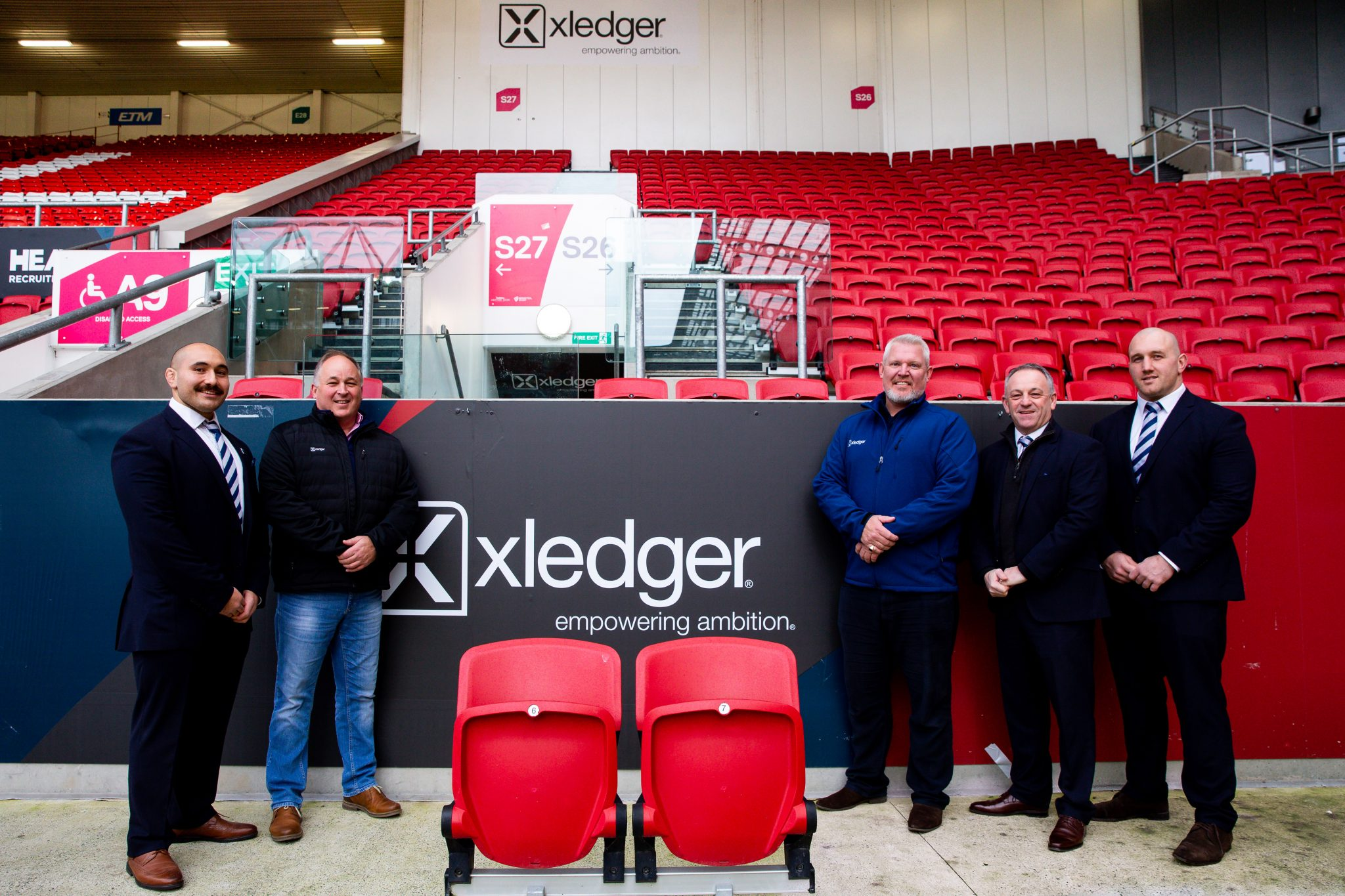 Xledger Ashton Gate