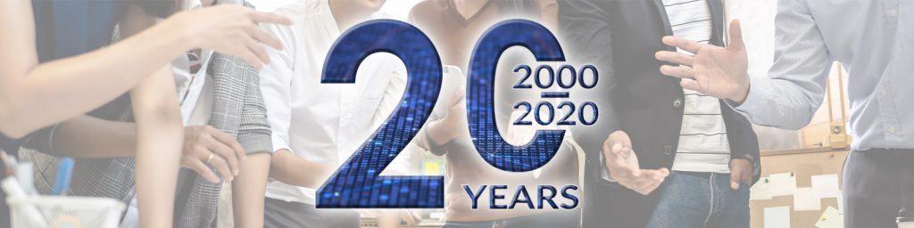 Xledger 20 year anniversary