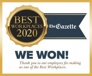 2020 Gazette Best Workplaces